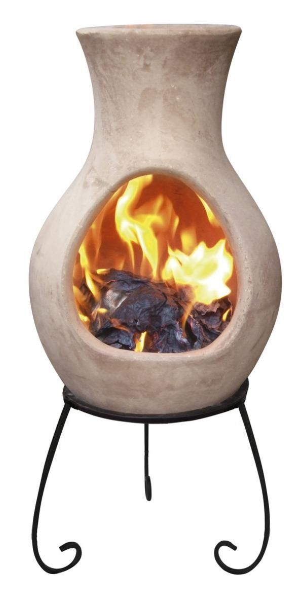 Four Elements Clay Chiminea Air Small
