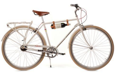 my kind of biking - wine carrier! :)