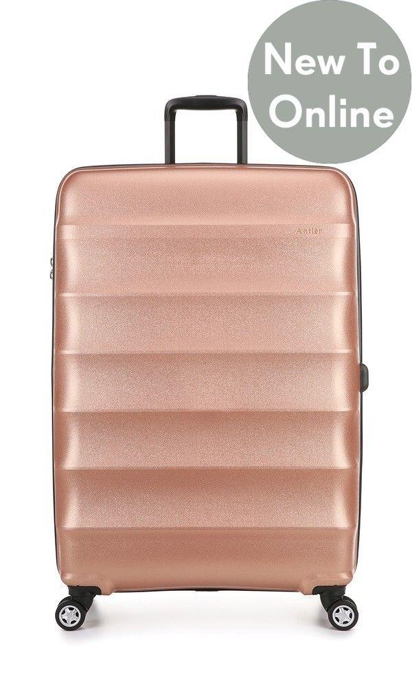 Juno Metallic Large | Hard Suitcase | Antler UK
