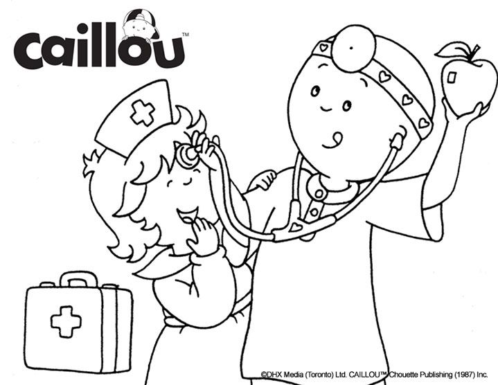 17 Best Images About Caillou Activities Amp Printables On