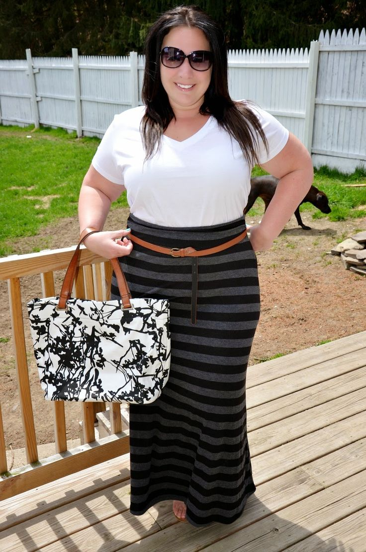 Full Figured & Fashionable (Amy). I'm not sure how this is possible, but all of her outfits make ME feel pretty! She also includes links so you can build the outfit for your own closet.