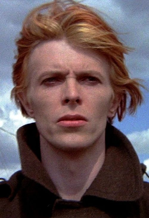 David Bowie in 'The Man Who Fell to Earth', 1976.