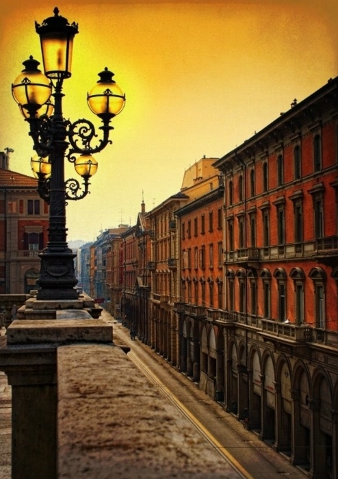 Bologna (Italy) Been there, and it's one of the most beautiful places I've seen