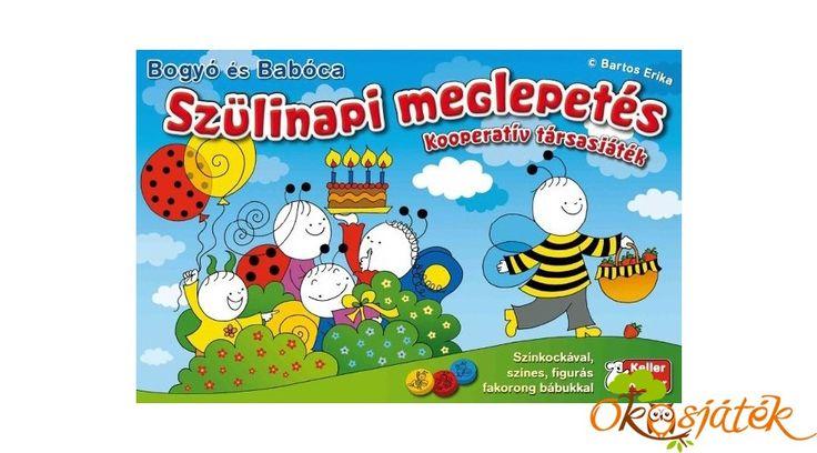 Bogyó és Babóca társasjáték - Szülinapi meglepetés (752) - KellerMayer