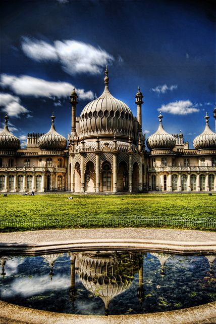 The Royal Pavillion, Brighton, UK. It was the weirdest, coolest building I've been to!