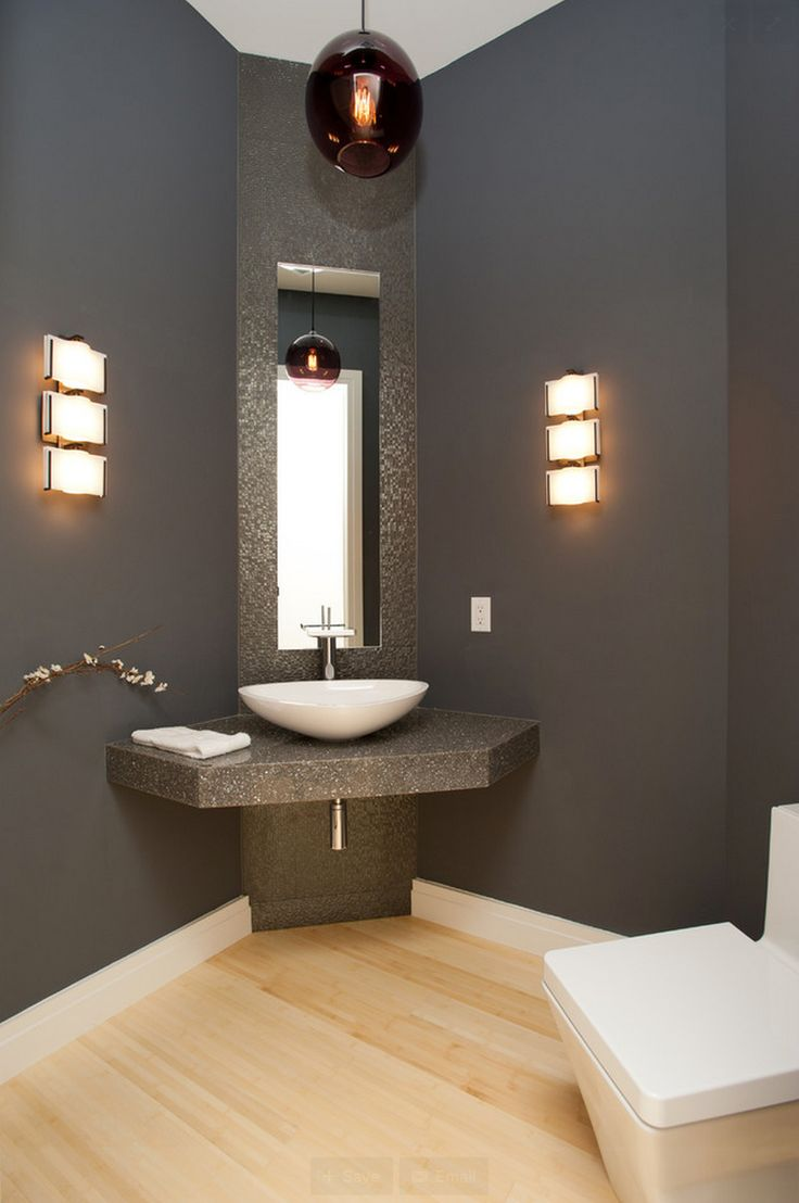 Pendant lights for bathroom vanity - A Bathroom Designed By Eddy Homes Featuring Niche S Solitaire Modern Pendant