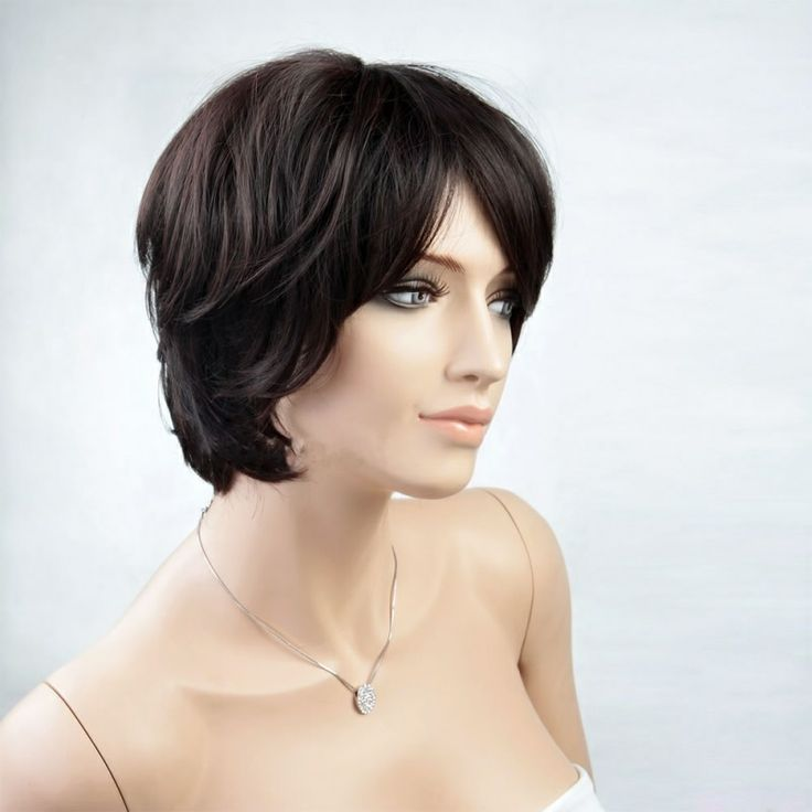 Short Curly Wigs | ... Wigs » Woman's Wig Black Short Curly Hair For Young Girl Fashion Wig