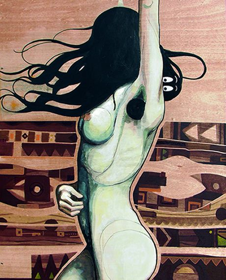 """BARBA MAMA"" by elDimitry  Available at Fousion Gallery Barcelona"
