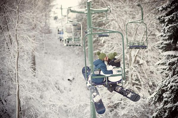 Snowboarding...mmm