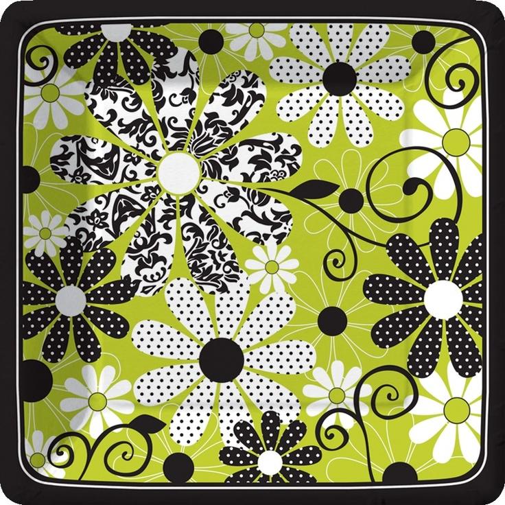 Damask Flower Dinner Plates · Paper PlatesDinner PlatesModern ... & 73 best Modern Design Paper Plates u0026 Napkins images on Pinterest ...