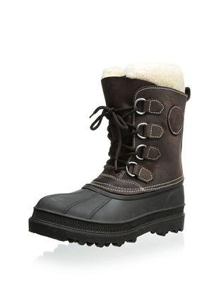 Kamik Women's Pearson Shearling Boot (Brown)