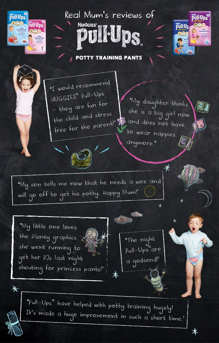 Top Potty Training Tips from Huggies® Pull-Ups® - Netmums