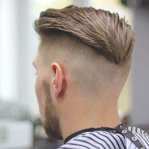 The V Shaped Haircut Is The Newest Trend In Menu0027s Hairstyle! For A Bolder  Look You Can Get A High Fade With Double V Shaped.