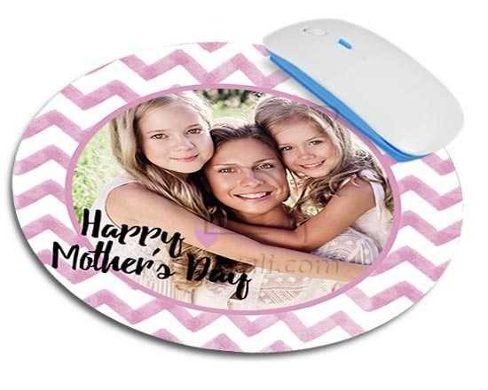 Tappetino mouse con grafica per la mamma