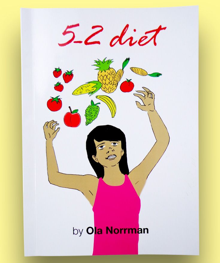 "5-2 Diet by Ola Norrman reveals the secrets behind the 5-2 diet phenomenon. Ola Norrman is known for his hit Swedish diet book ""How to lose weight without hunger"".  The 5-2 diet has had an enormous impact on dieting, and has brought a whole new diet method that has changed the lifestyles of thousands and thousands of people. A people's diet movement has been born."
