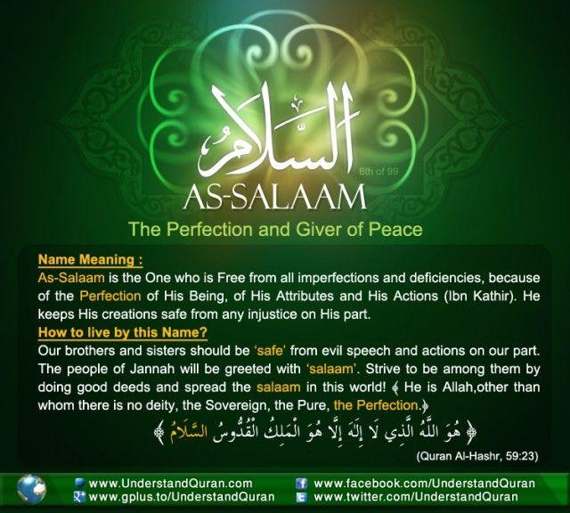Name 6 Al Salam e1354989836403 The Answer is: As Salaam!