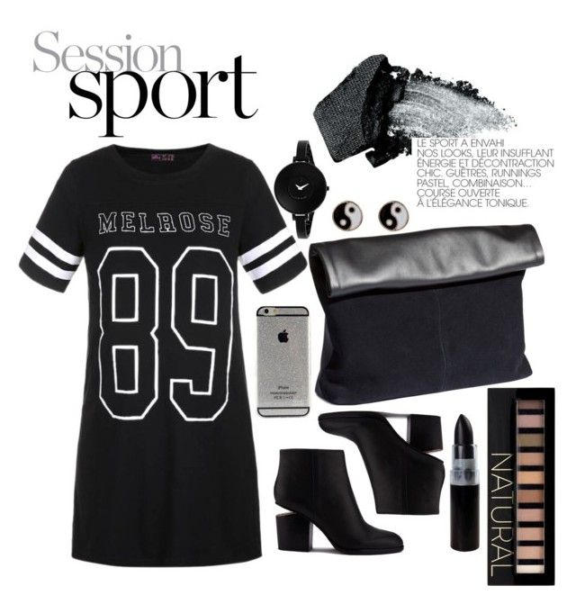 Untitled #12 by lauralionels on Polyvore featuring polyvore fashion style Ally Fashion Alexander Wang H&M Movado Accessorize Forever 21 Gorgeous Cosmetics clothing