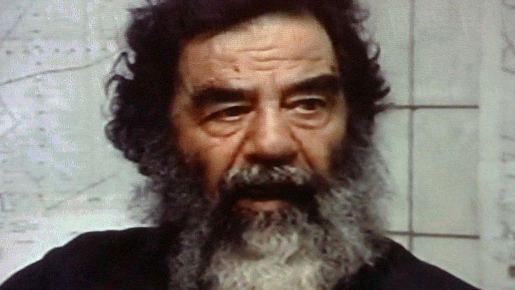 Ex-CIA agent John Nixon describes how he interrogated former Iraqi President Saddam Hussein after his capture.