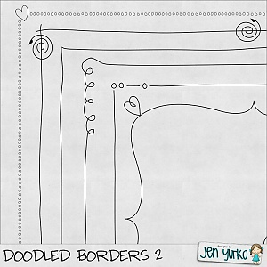 border clip art - fun, free. This is what all of my class notes look like..