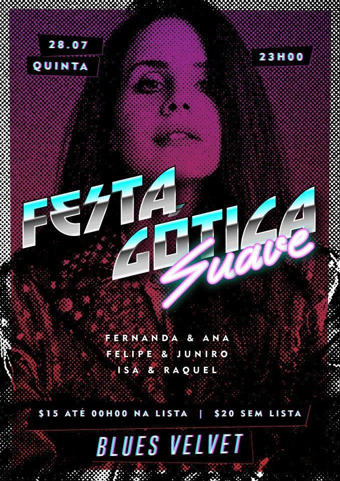Flyer Festa Gótica Suave on Behance