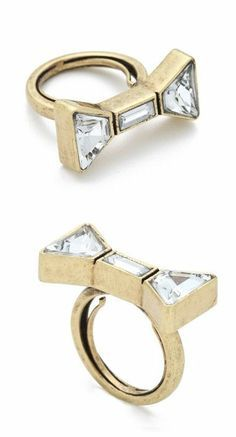 Marc Jacobs Bow Ring ♥