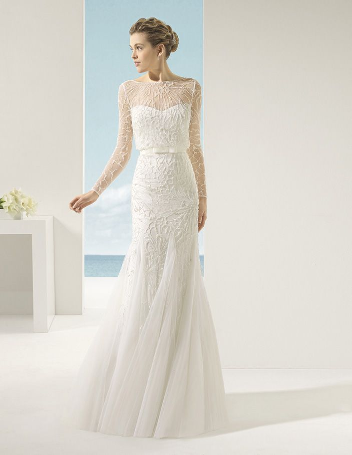 Rosa clara 2016 wedding dress soft collection for Wedding dress rosa clara