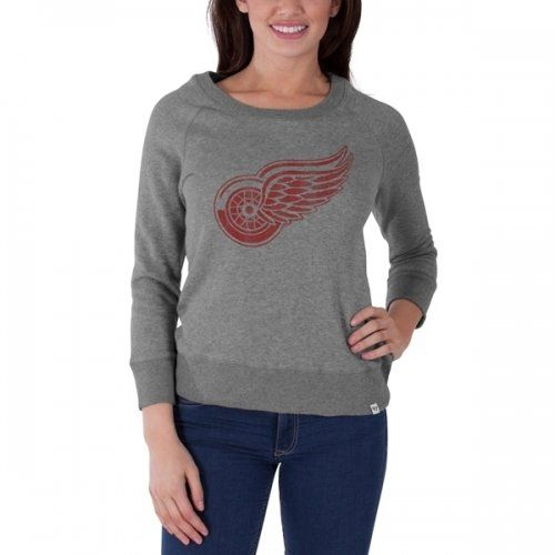 Detroit Red Wings '47 women's long sleeve shirt - available at Detroit Sports Outlet.
