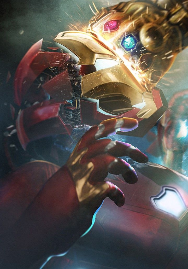 Live Wallpaper Goku Iphone X Iron Man Vs Thanos Iron Man Tony Stark Pinterest