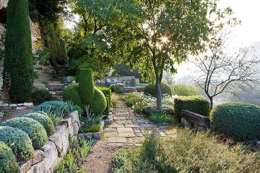 An iconic Provencal garden by Nicole de Vesian. Photo Clive Nichols.