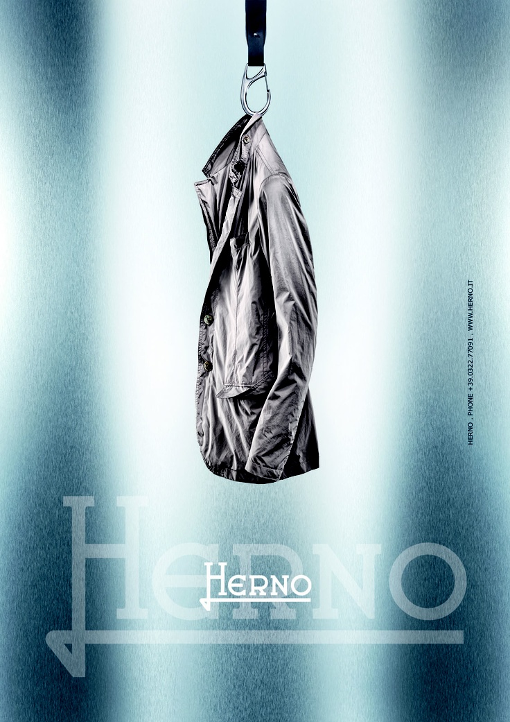 Sporty jacket in washed nylon    http://www.herno.it/index.php/en/collezioni/collezione-primavera-estate-2013/uomo