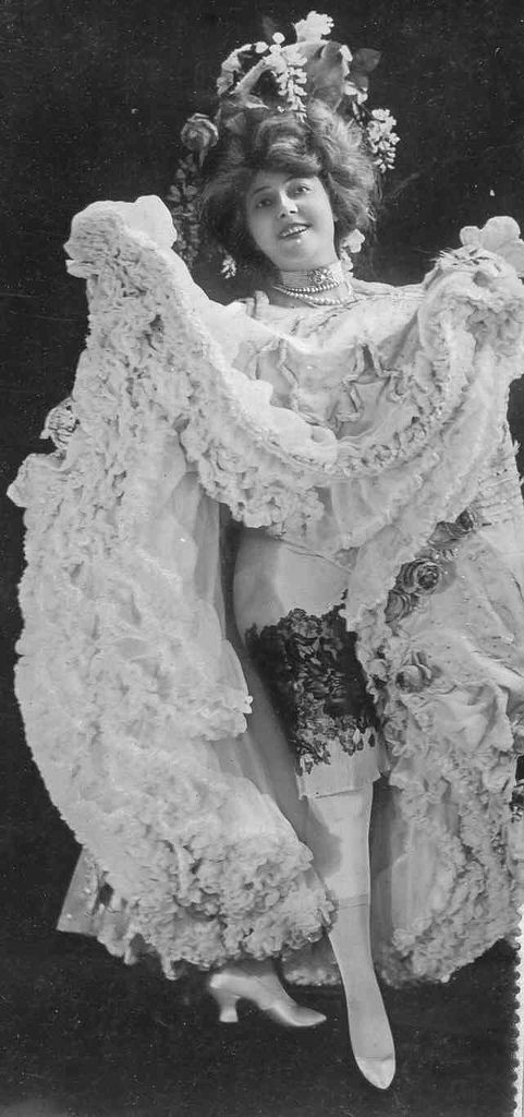 Anna Held (Polish, 1872-1918) - A stage performer, most often associated with impresario Florenz Ziegfeld, her common-law husband -