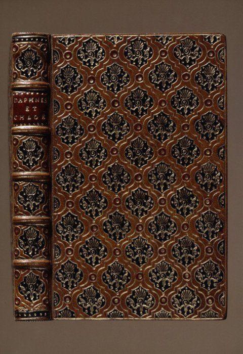 Les Amours pastorales de Daphnis et Chloé Paris: J. Quillau, 1718. Bookbinder: Antoine-Michel Padeloup c.1730