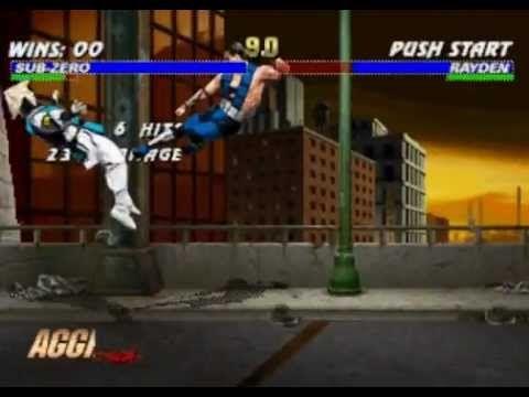 Mortal Kombat Trilogy [Sega Saturn] [Longplay]