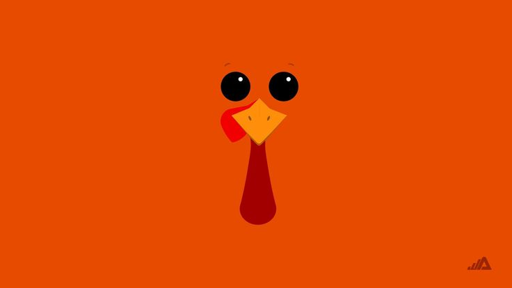 Cute thanksgiving wallpaper and theme for Windows 10