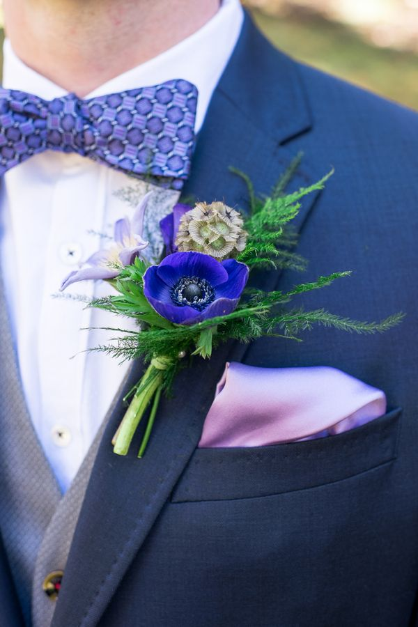 Outdoor Botanical Inspired Farm Wedding in Shades of Purple|Photographer: All My Love Photography