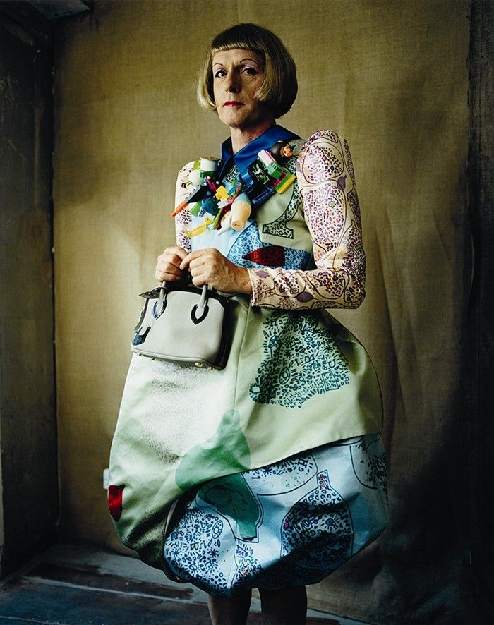 Grayson Perry, in AnOther Magazine A/W11