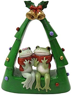 Copeau ( コポー ) クリスマス ツリーの中のカエルカップル 71275