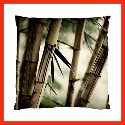 Brown Bamboo Cushion