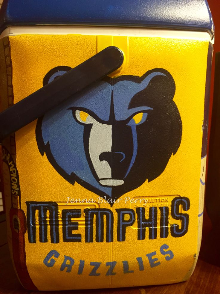 Ole Miss fraternity cooler. Memphis Grizzlies