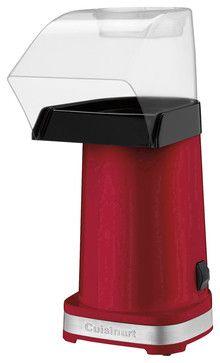 Cuisinart 1500-Watt EasyPop Hot Air Popcorn Maker, Red contemporary-specialty-kitchen-electrics