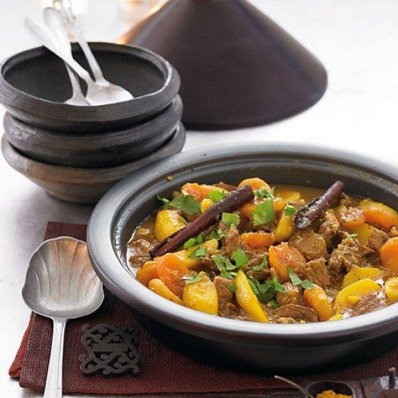 ESSEN & TRINKEN - Lamm- Kartoffel-Tajine mit Safran Rezept