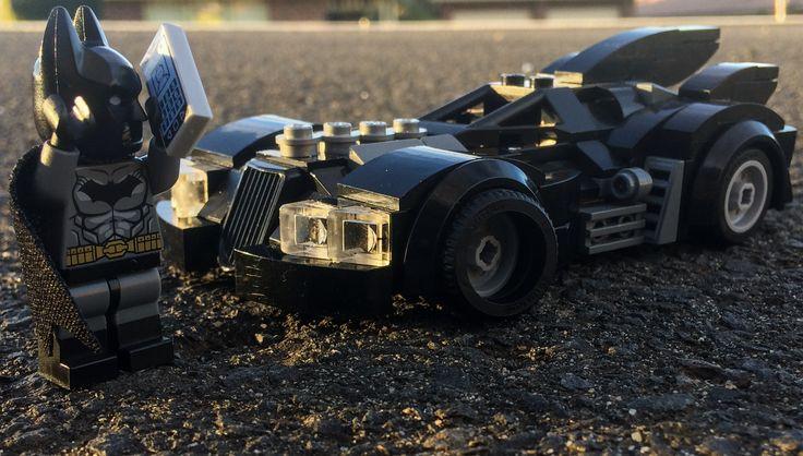 Even batman gets flat tires