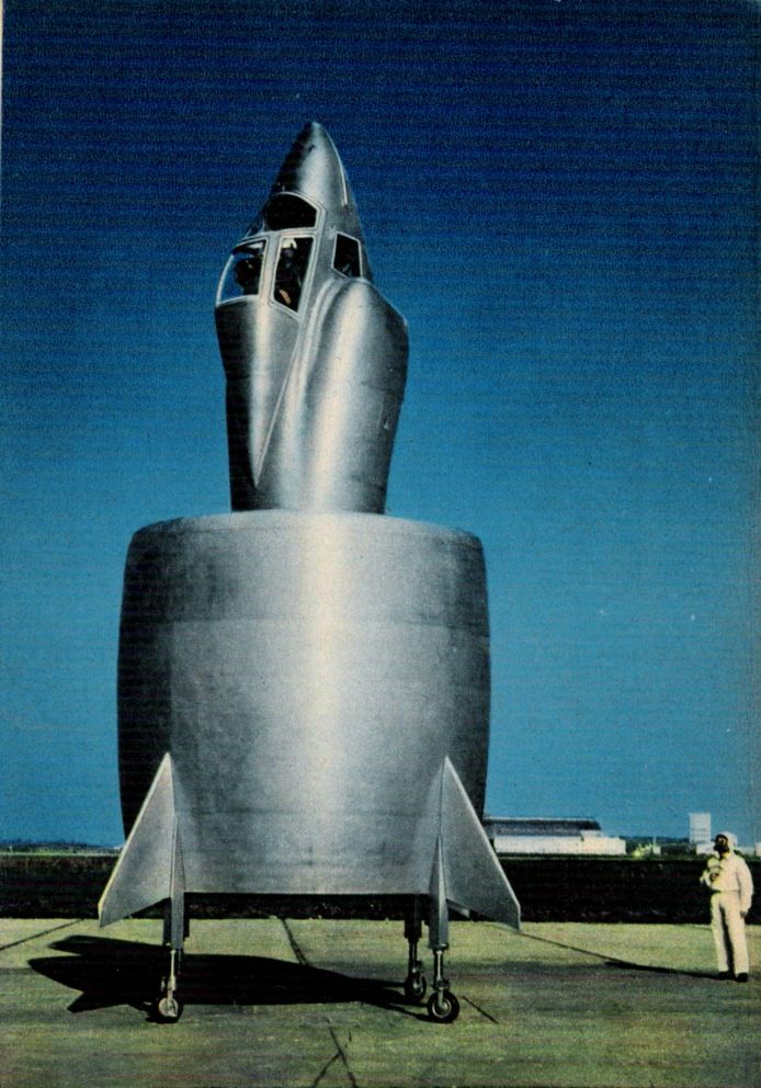 Image result for Snecma Flying Coleoptere (C-450) - 1958