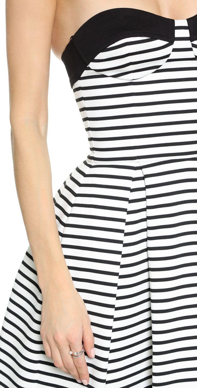 Nicholas Breton Stripe Ball Dress | SHOPBOP