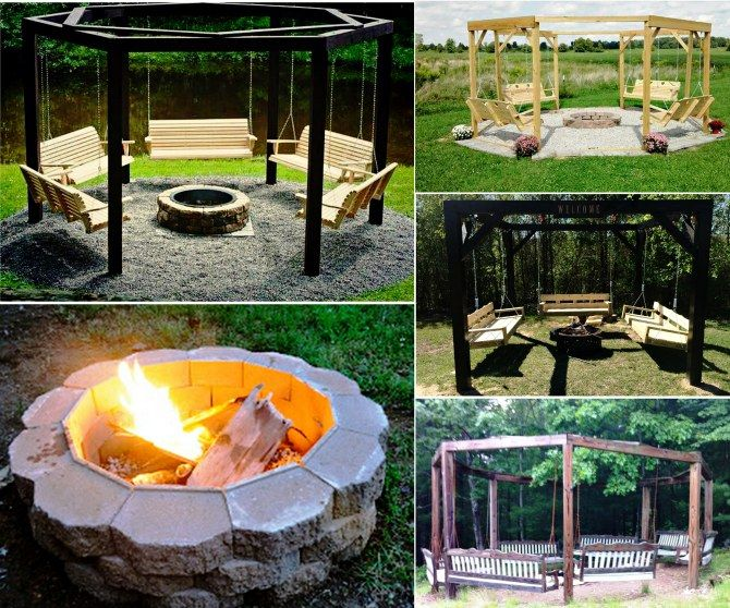 Prep fire pits on pinterest campfires swings and brick fire pits