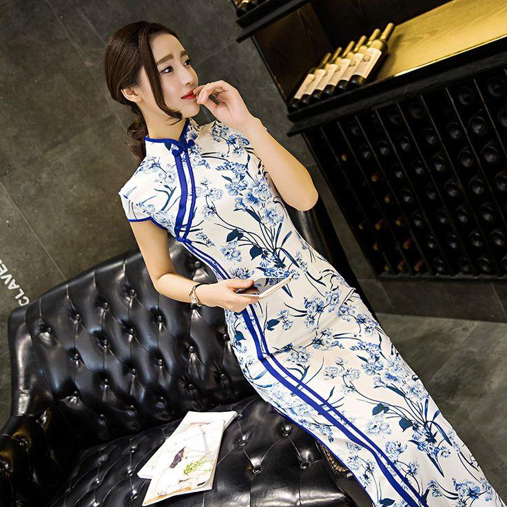 Find More Cheongsams Information about Peacock Floral Velvet Long Cheongsam Qipao Dress,High Quality qipao dress,China cheongsam qipao dress Suppliers, Cheap long cheongsam from June Moon on Aliexpress.com