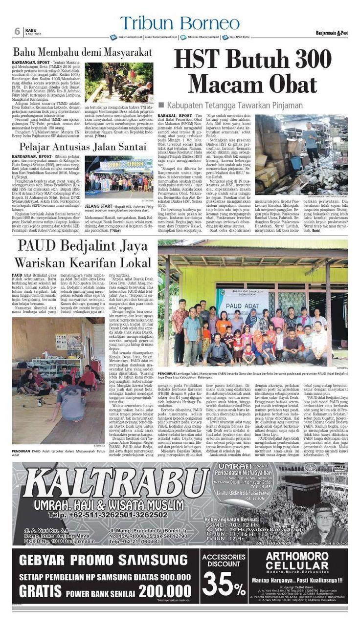 #ClippedOnIssuu from Banjarmasin Post Rabu 4 Mei 2016