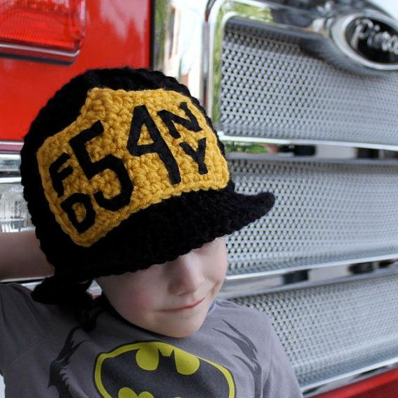 Firefighter Helmet  Crochet Pattern  Permission to by micahmakes, #kidsfashion $5.95