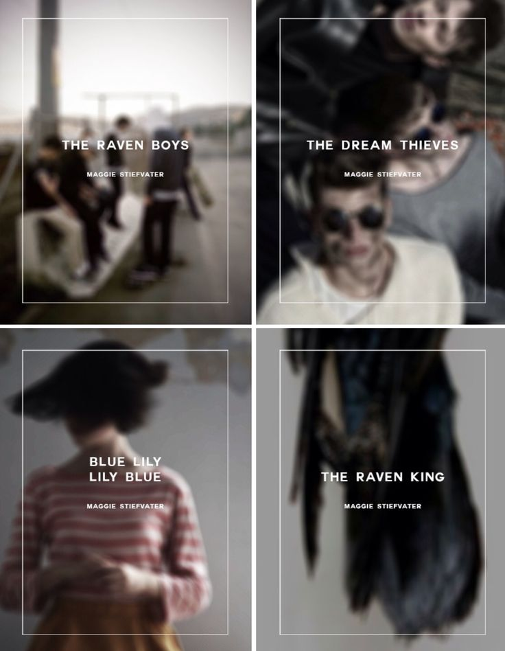 Raven Cycle: The Raven Boys / The Dream Thieves / Blue Lily, Lily Blue / The Raven King #ravencycle #trc