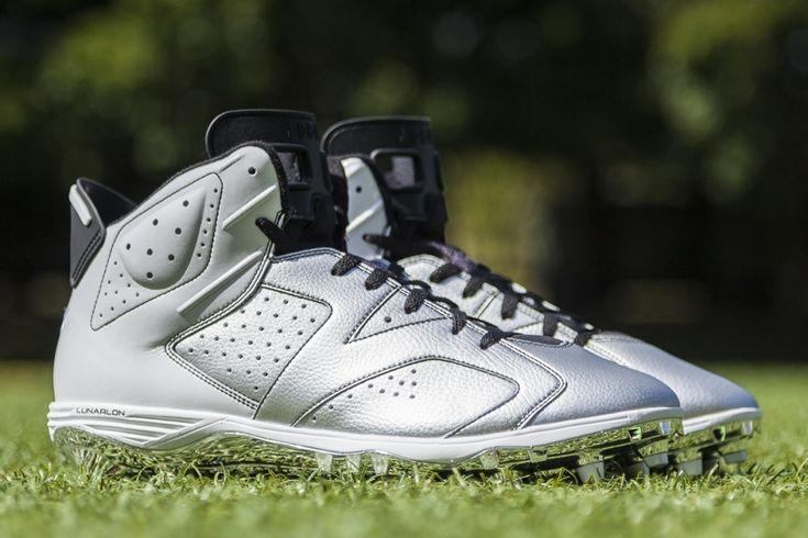 Air Jordan 6 PE Cleats for the 2014 NFL Season - SneakerNews.com